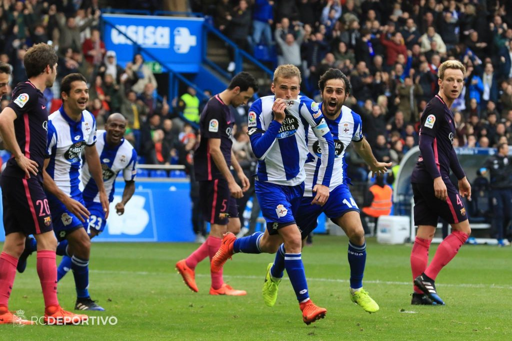 gol bergantiños deportivo barcelona