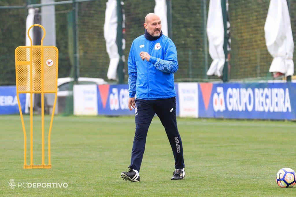 Roberto Ríos, segundo entrenador del Deportivo de La Coruña