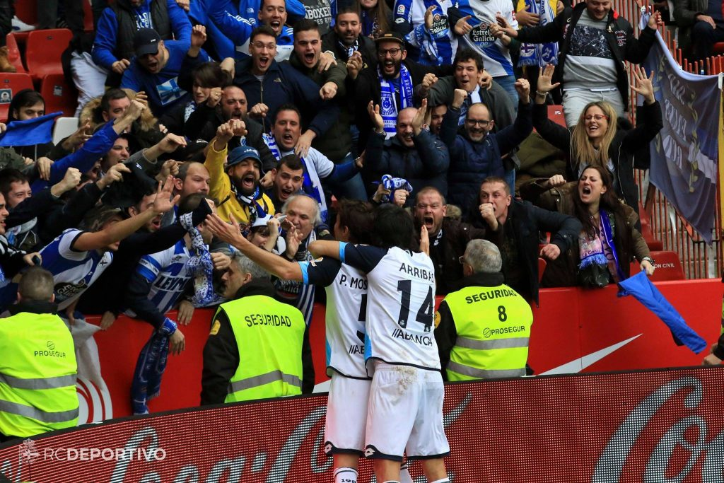Mosquera gol Sporting-Deportivo