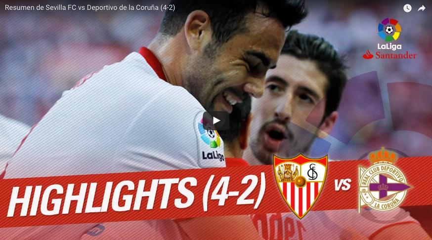 vídeo Sevilla Deportivo