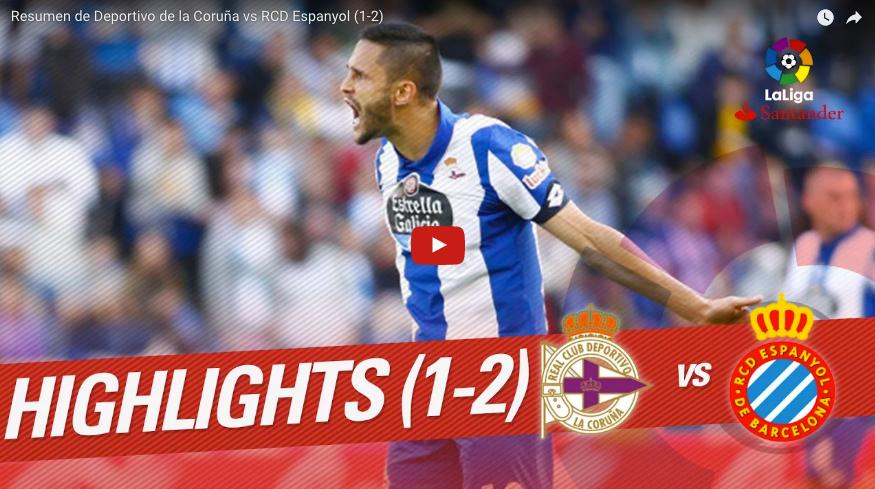 video deportivo espanyol