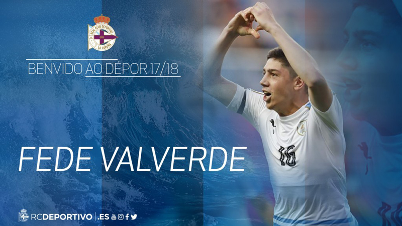 Fede Valverde Deportivo